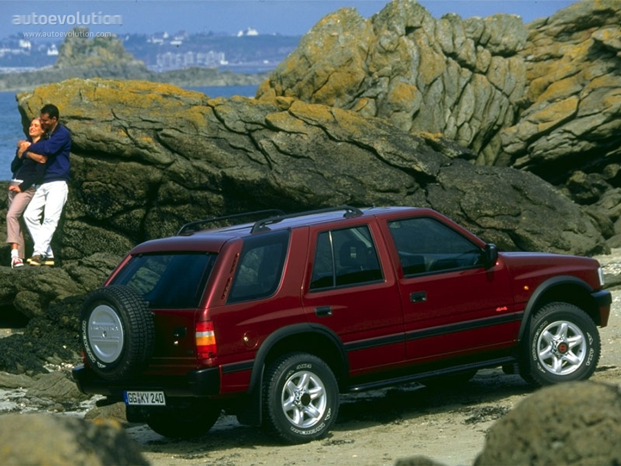 OPEL Frontera Wagon specs - 1995, 1996, 1997, 1998 ...