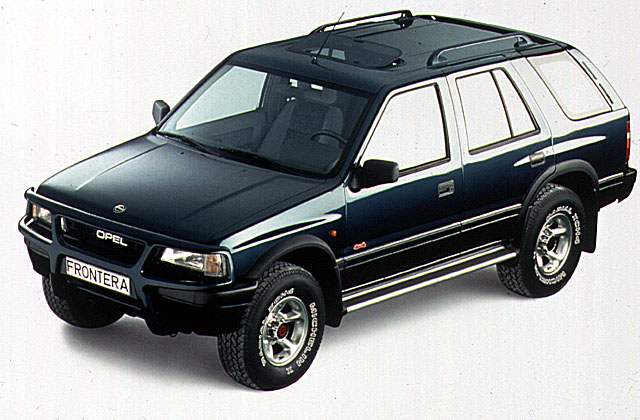 opel frontera wagon 1992 1993 1994 1995 autoevolution. Black Bedroom Furniture Sets. Home Design Ideas
