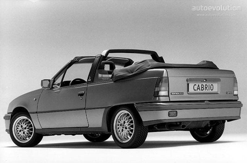 opel kadett cabriolet specs photos 1987 1988 1989. Black Bedroom Furniture Sets. Home Design Ideas