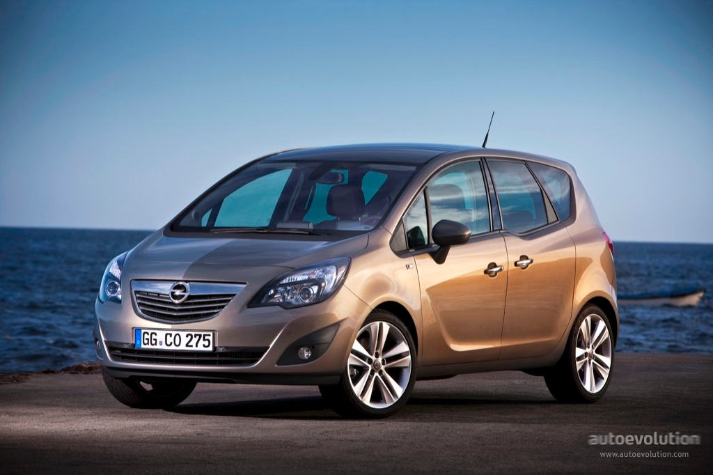 opel meriva specs photos 2010 2011 2012 2013 2014 autoevolution. Black Bedroom Furniture Sets. Home Design Ideas