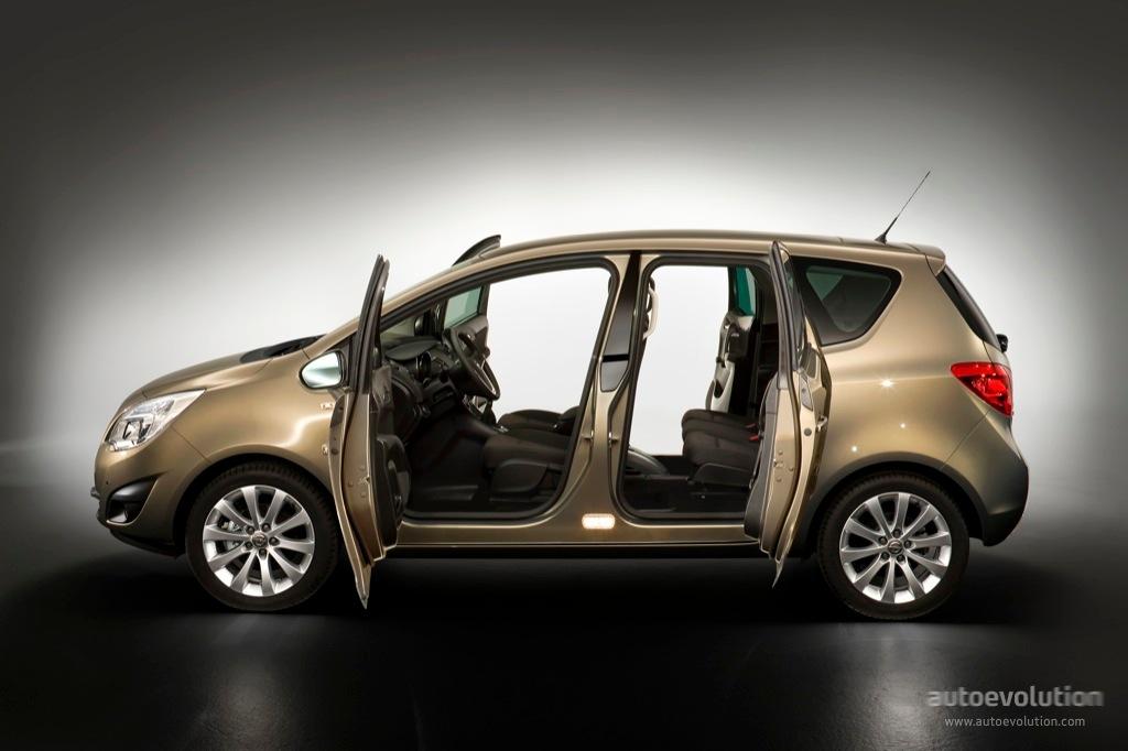 Opel meriva specs 2010 2011 2012 2013 2014 autoevolution opel meriva 2010 2014 sciox Gallery