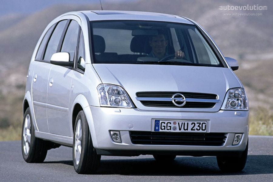 opel meriva specs 2003 2004 2005 autoevolution. Black Bedroom Furniture Sets. Home Design Ideas