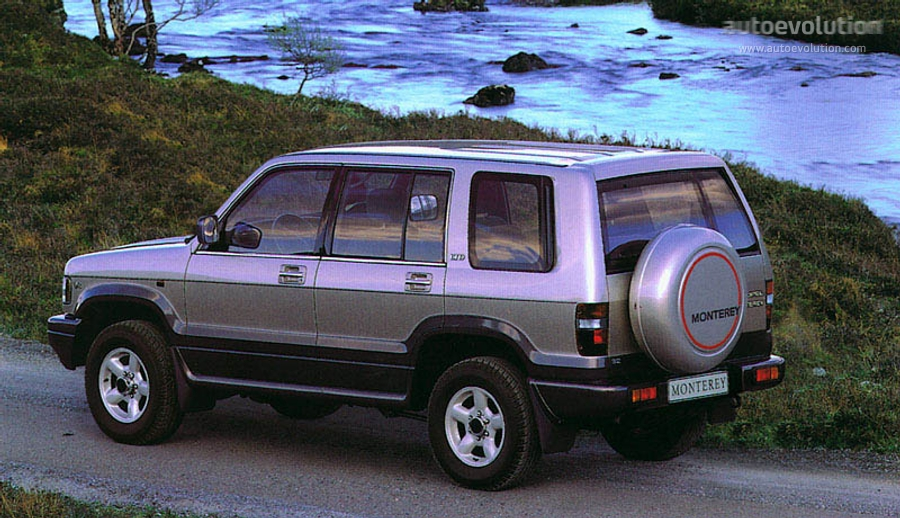 opel monterey ltd specs 1992 1993 1994 1995 1996 1997 1998 rh autoevolution com Parts Manual Customer Service Books
