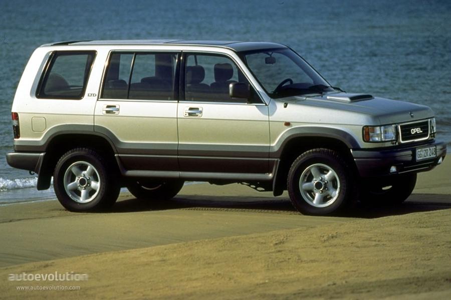 Opel Monterey Ltd Specs Amp Photos 1992 1993 1994 1995