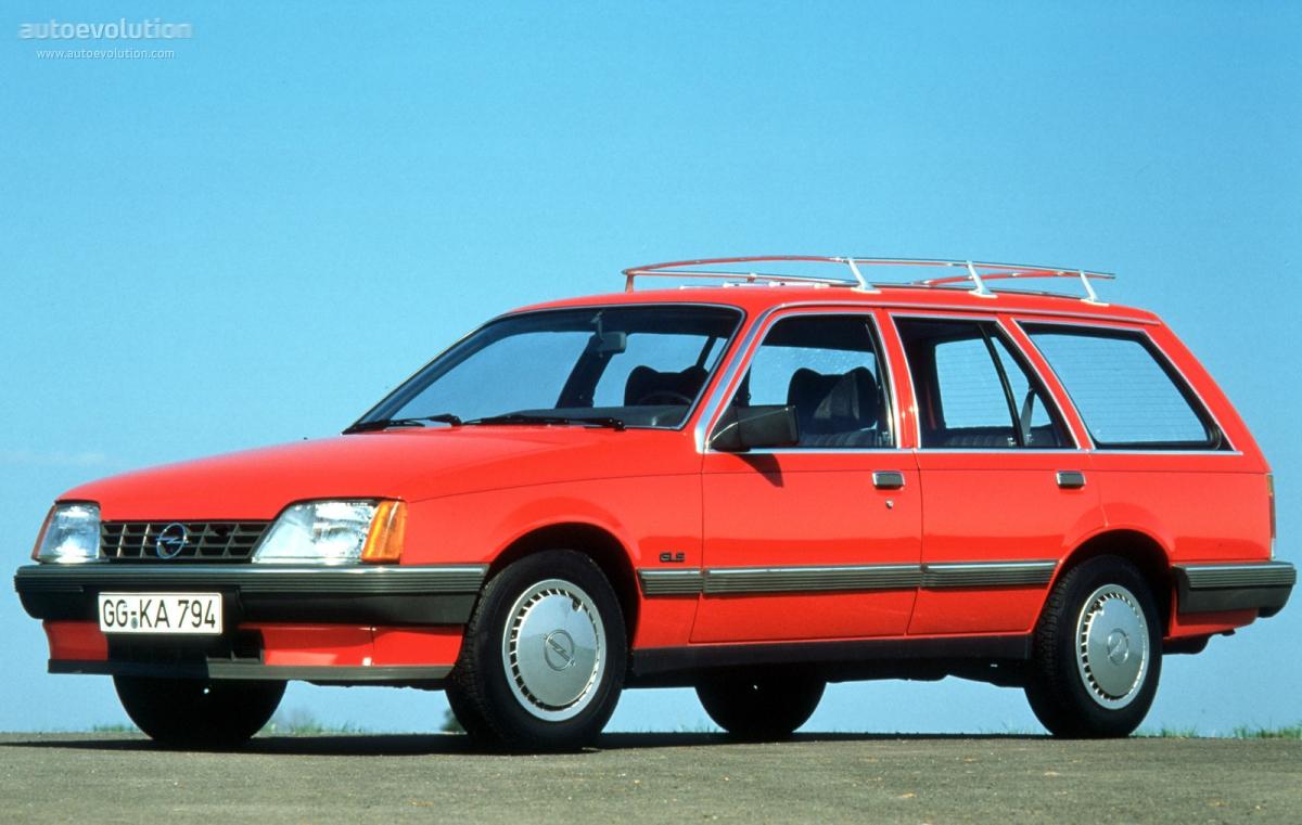 Opel Rekord Caravan Specs 1982 1983 1984 1985 1986
