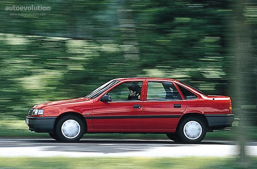 Opel Vectra Sedan Specs 1988 1989 1990 1991 1992 Autoevolution