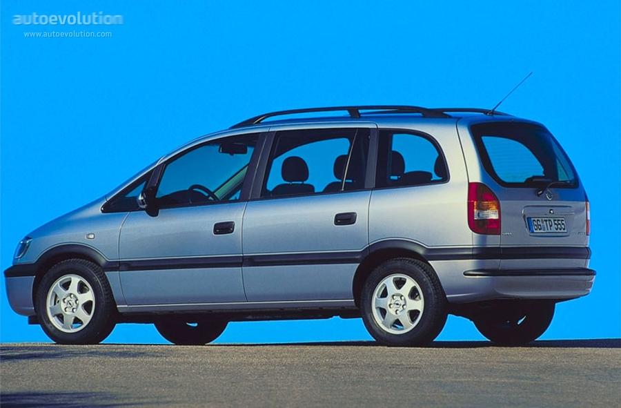 Opel Zafira Specs 1999 2000 2001 2002 2003