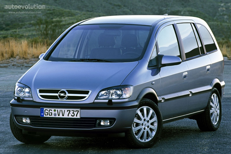 opel zafira specs 2003 2004 2005 autoevolution. Black Bedroom Furniture Sets. Home Design Ideas