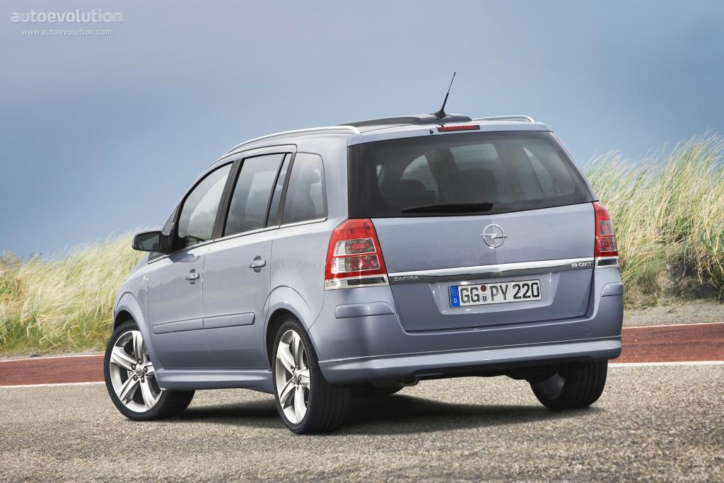 Opel Zafira Specs Photos 2008 2009 2010 2011 2012 2013