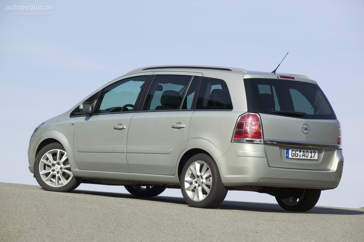 opel zafira specs 2006 2007 2008 autoevolution. Black Bedroom Furniture Sets. Home Design Ideas