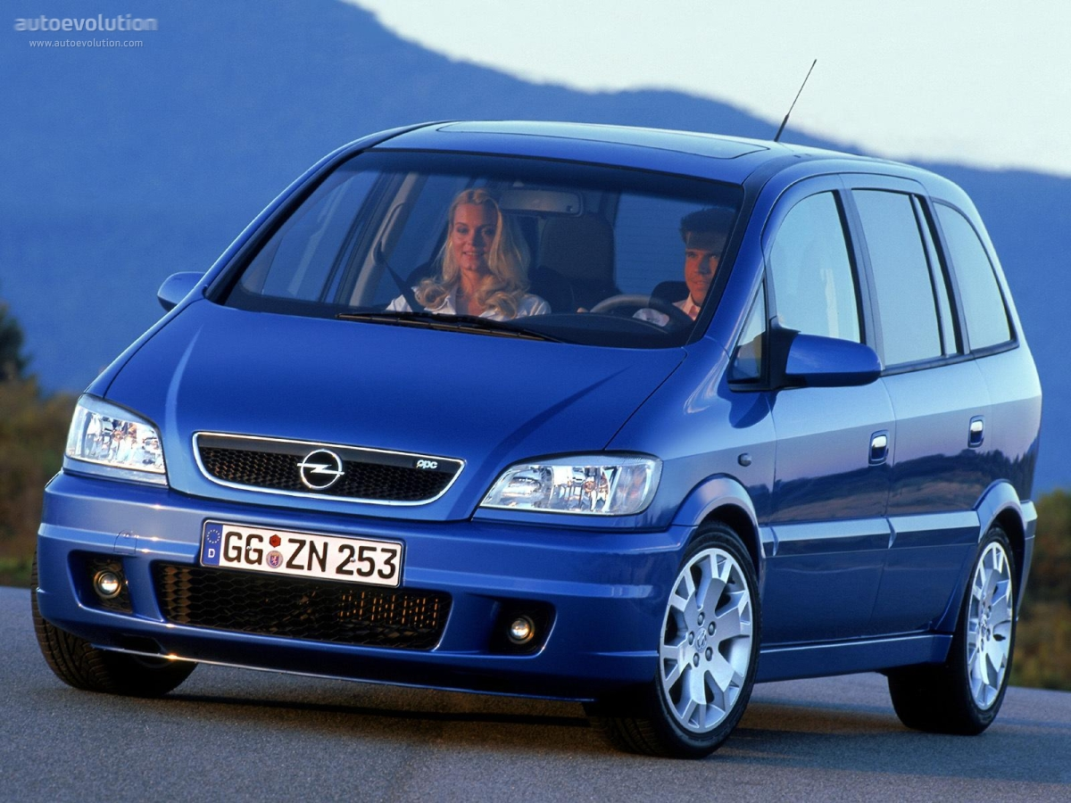 opel zafira opc specs 2001 2002 2003 2004 2005 autoevolution. Black Bedroom Furniture Sets. Home Design Ideas