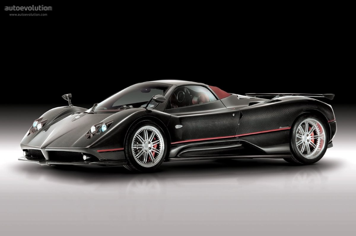 pagani zonda f roadster specs photos 2006 2007 2008 2009 autoevolution. Black Bedroom Furniture Sets. Home Design Ideas