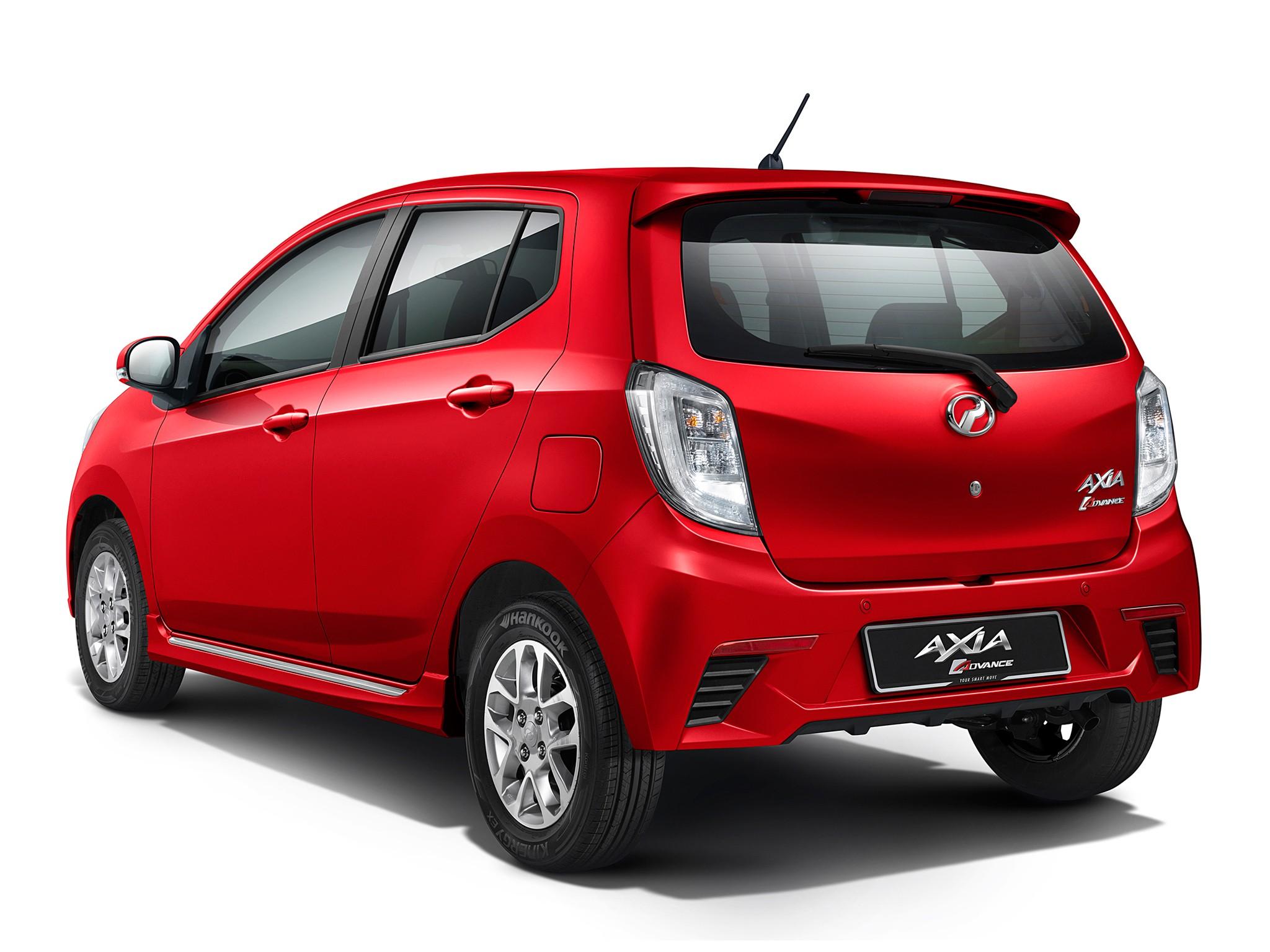 Perodua Axia 2014 2015 2016 Autoevolution