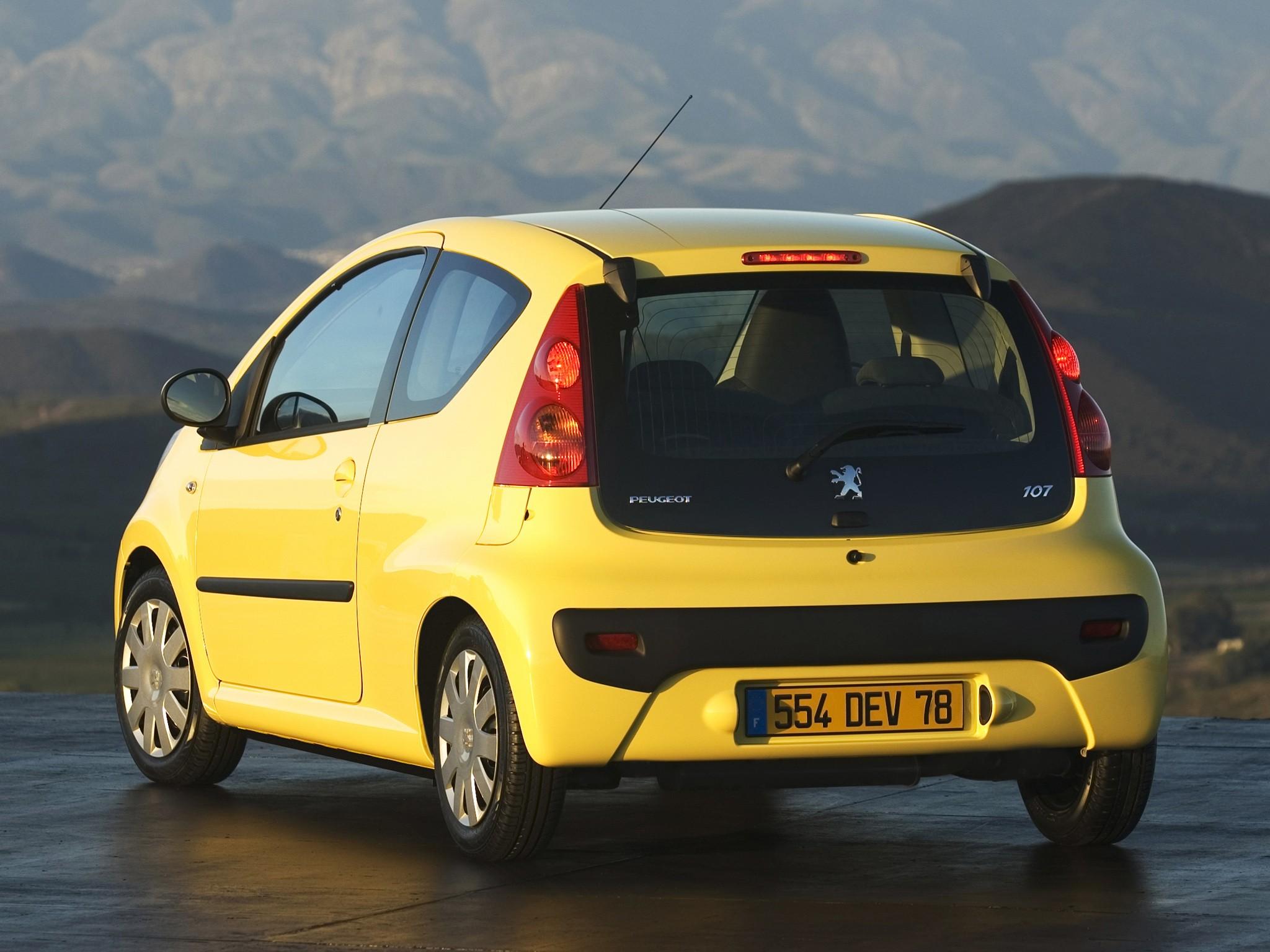 peugeot 107 3 doors specs - 2005, 2006, 2007, 2008 - autoevolution