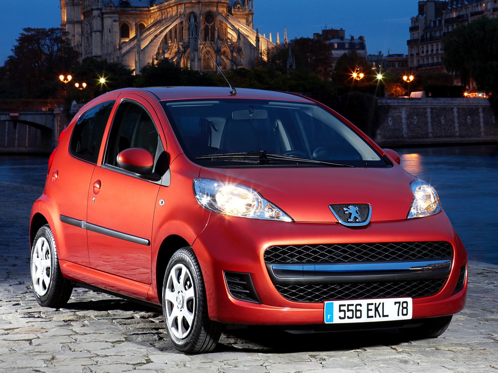 Peugeot 107 5 Doors 2008 2009 2010 2011 2012 2013