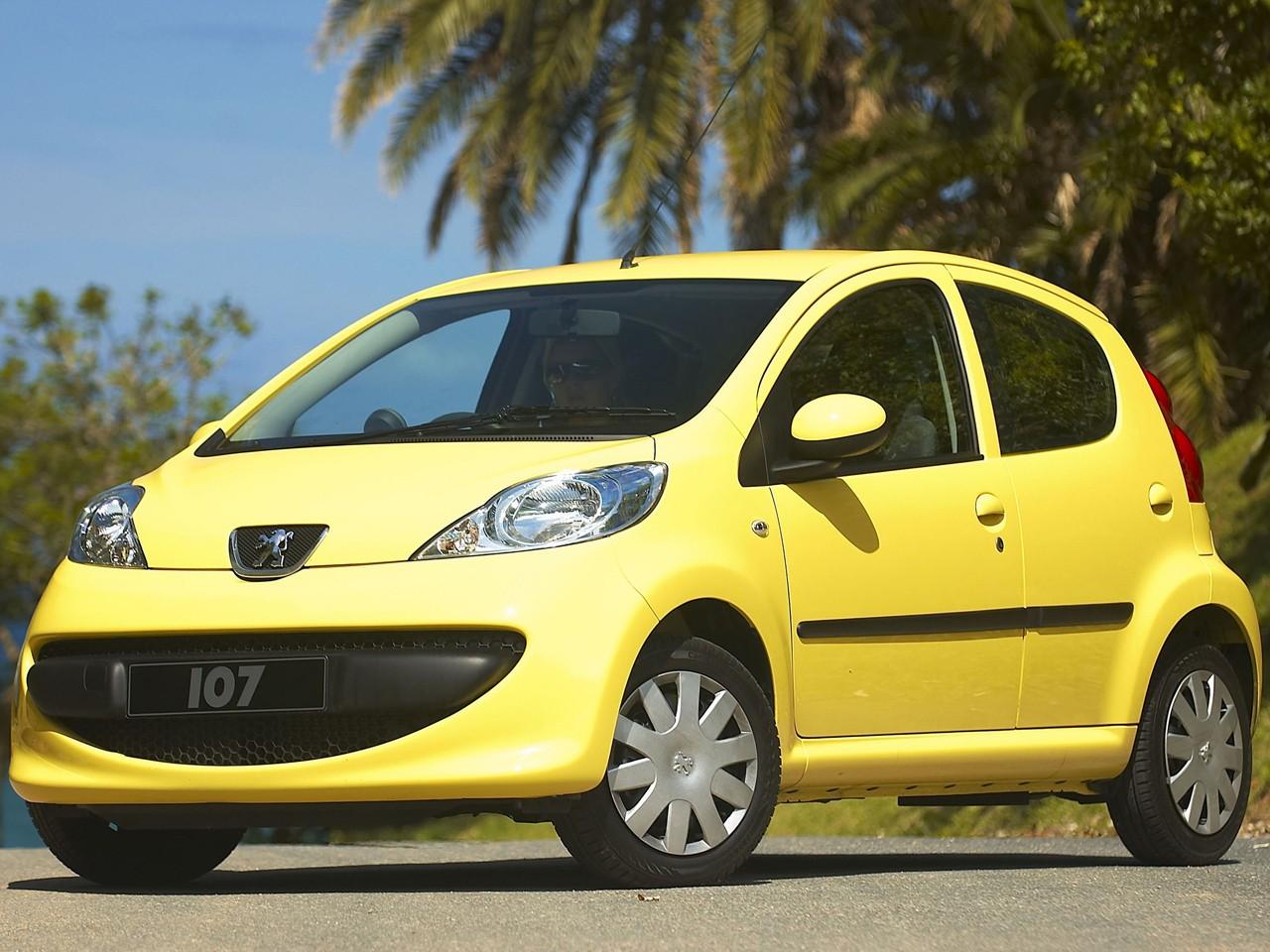 Peugeot 107 5 Doors Specs 2005 2006 2007 2008
