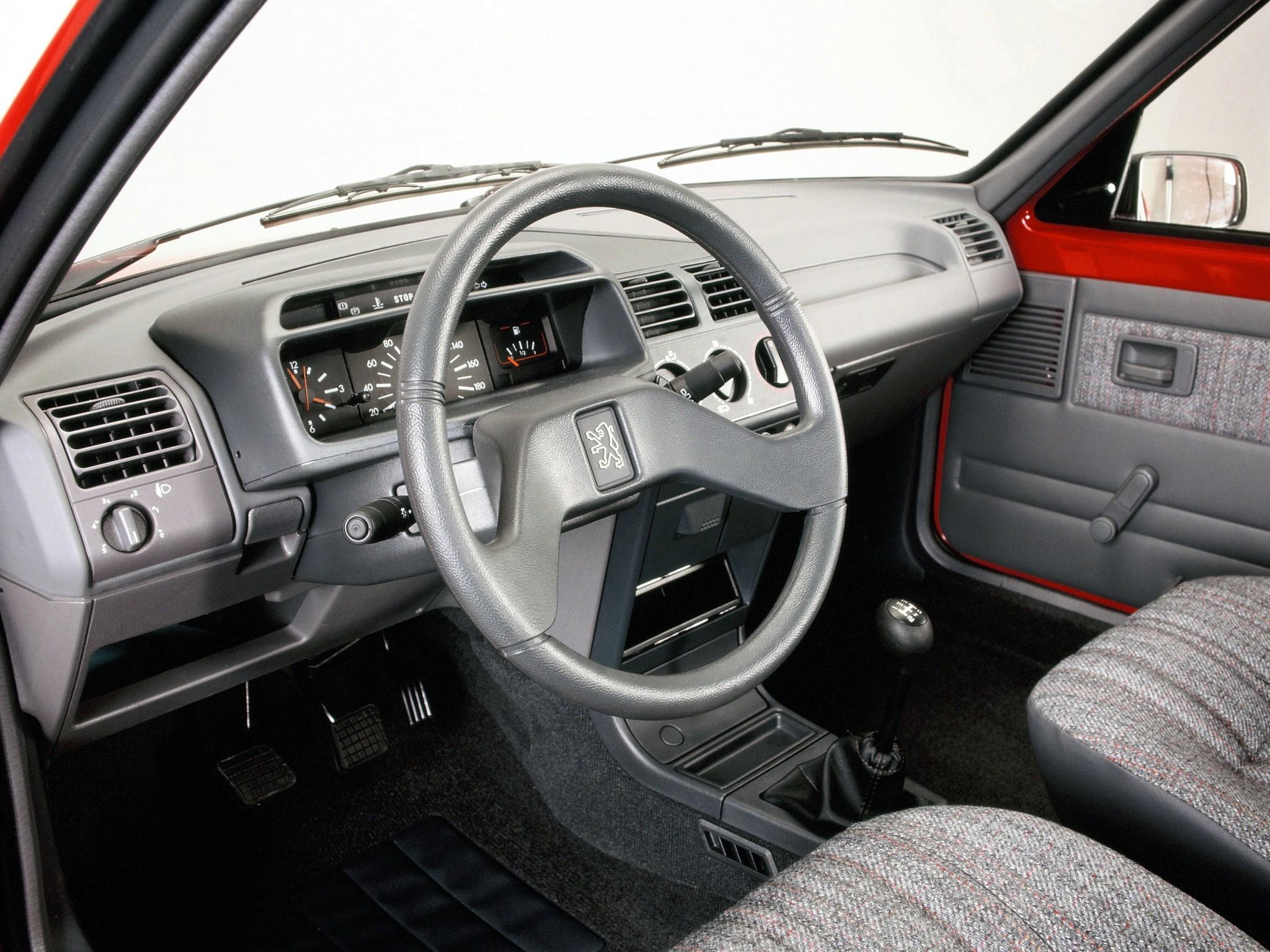 PEUGEOT 205 3 doors - 1984, 1985, 1986, 1987, 1988, 1989 ...