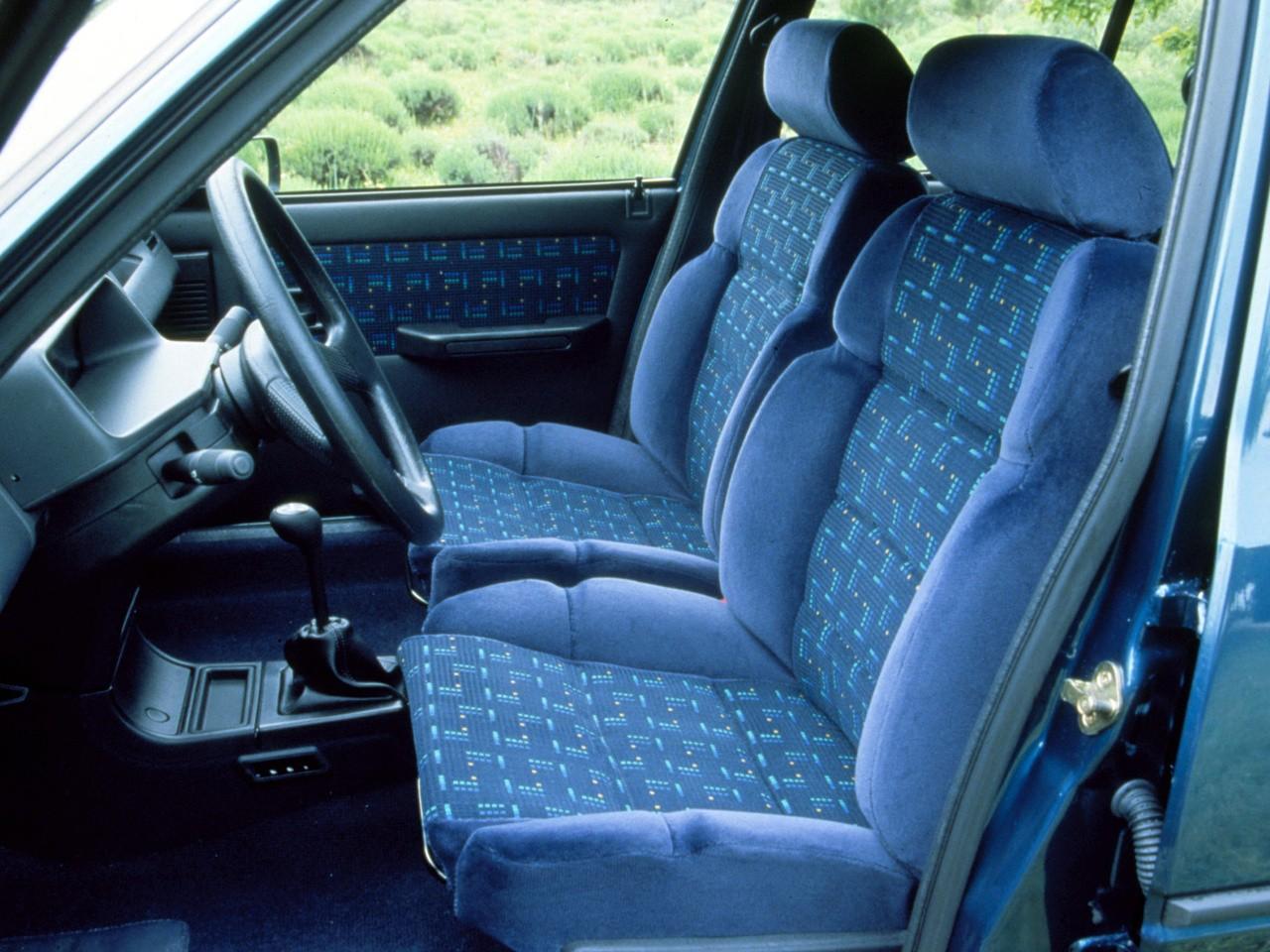 Peugeot 205 5 doors specs 1983 1984 1985 1986 1987 for Interieur 205 gti