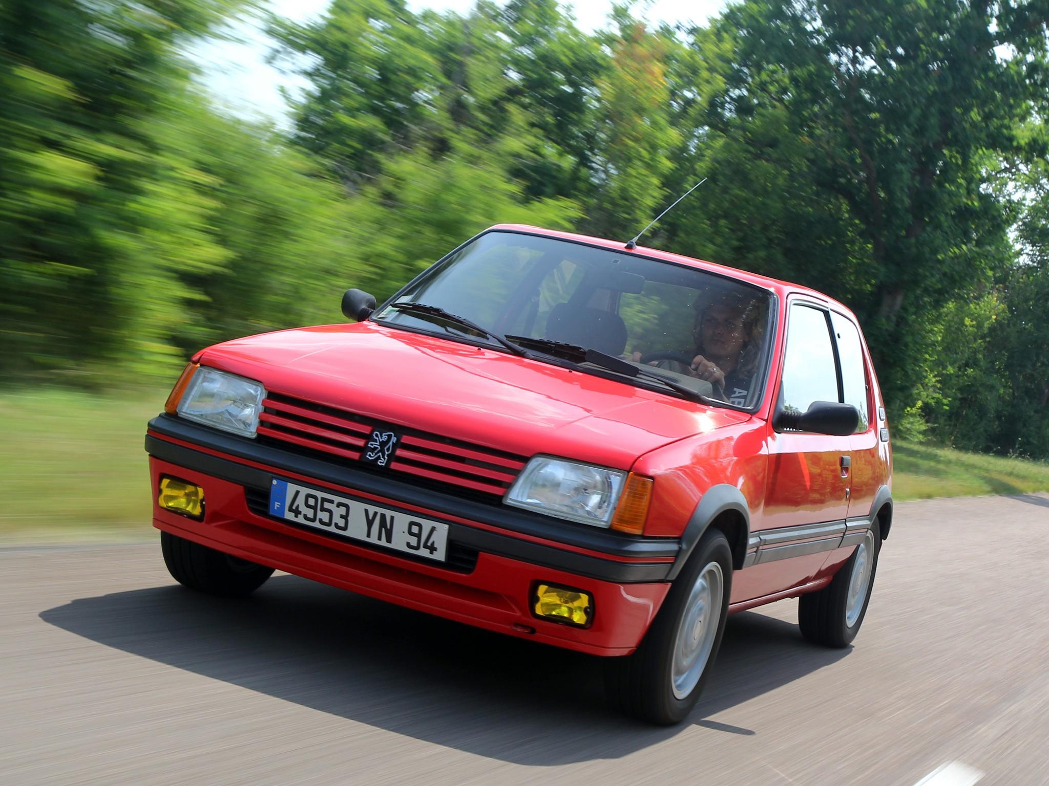 Peugeot 205 gti 1984 1985 1986 1987 1988 1989 1990 for Housse 205 gti