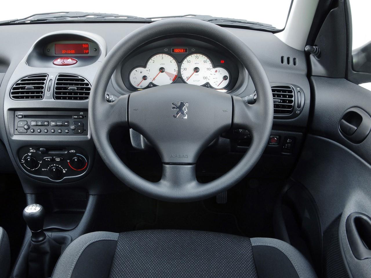 peugeot 206 3 doors specs - 2002, 2003, 2004, 2005, 2006, 2007