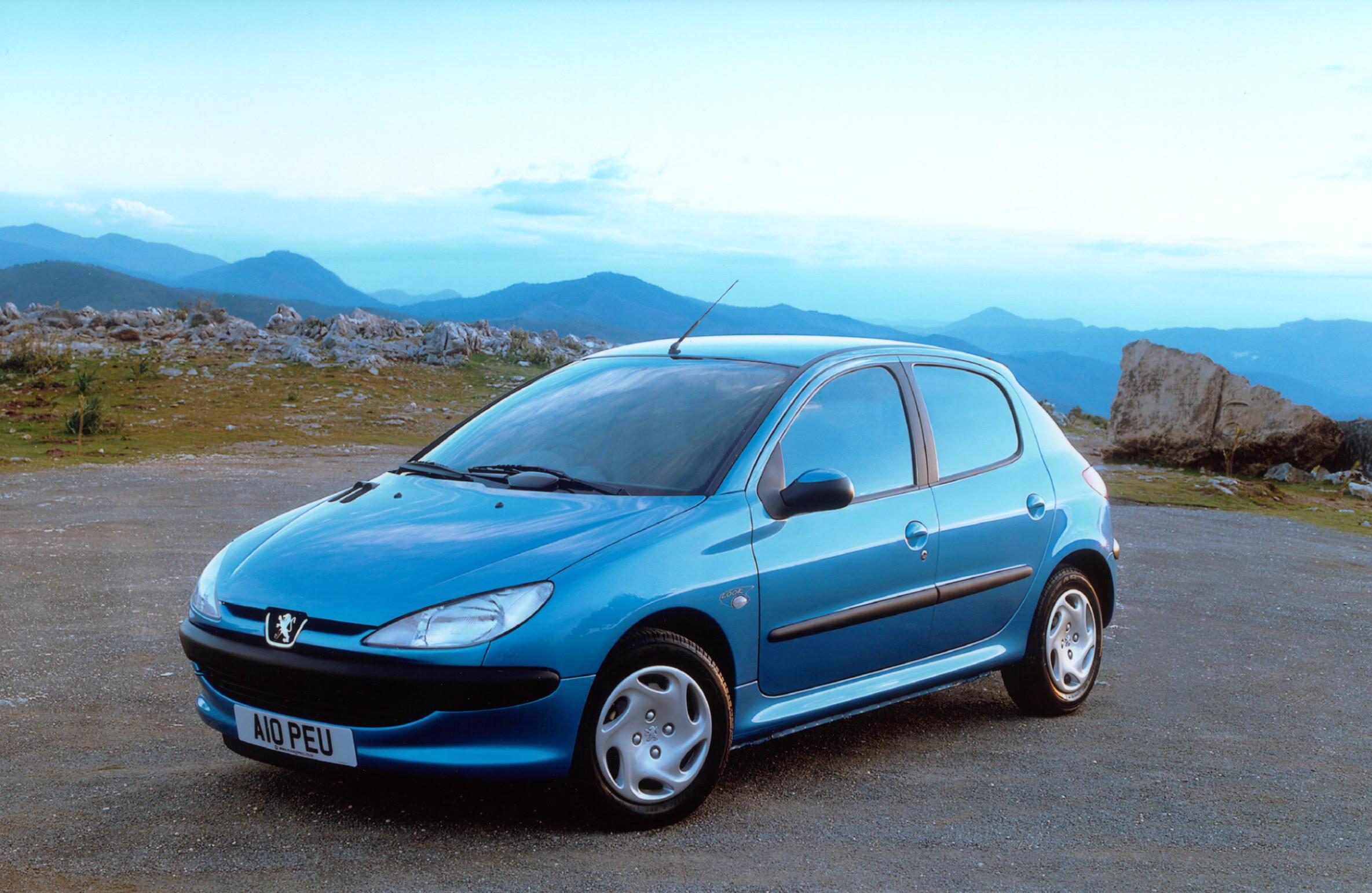 Peugeot 206 5 Doors 1998 1999 2000 2001 2002