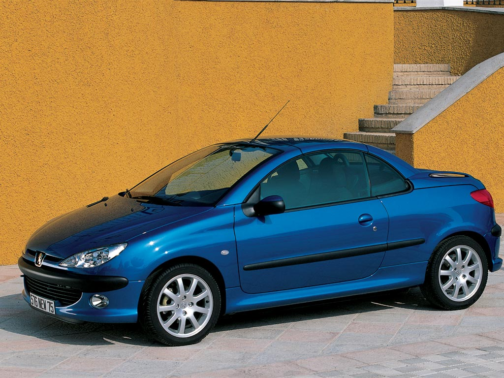 peugeot 206 cc specs 2001 2002 2003 2004 2005 2006 2007 autoevolution. Black Bedroom Furniture Sets. Home Design Ideas