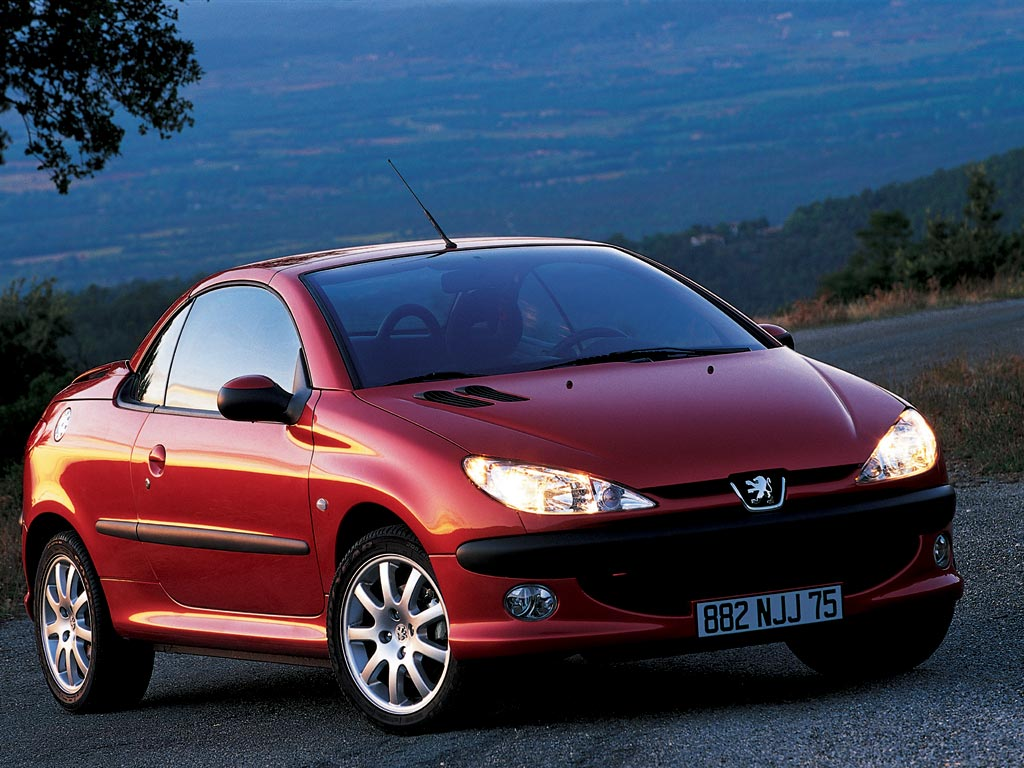 peugeot 206 cc specs photos 2001 2002 2003 2004. Black Bedroom Furniture Sets. Home Design Ideas