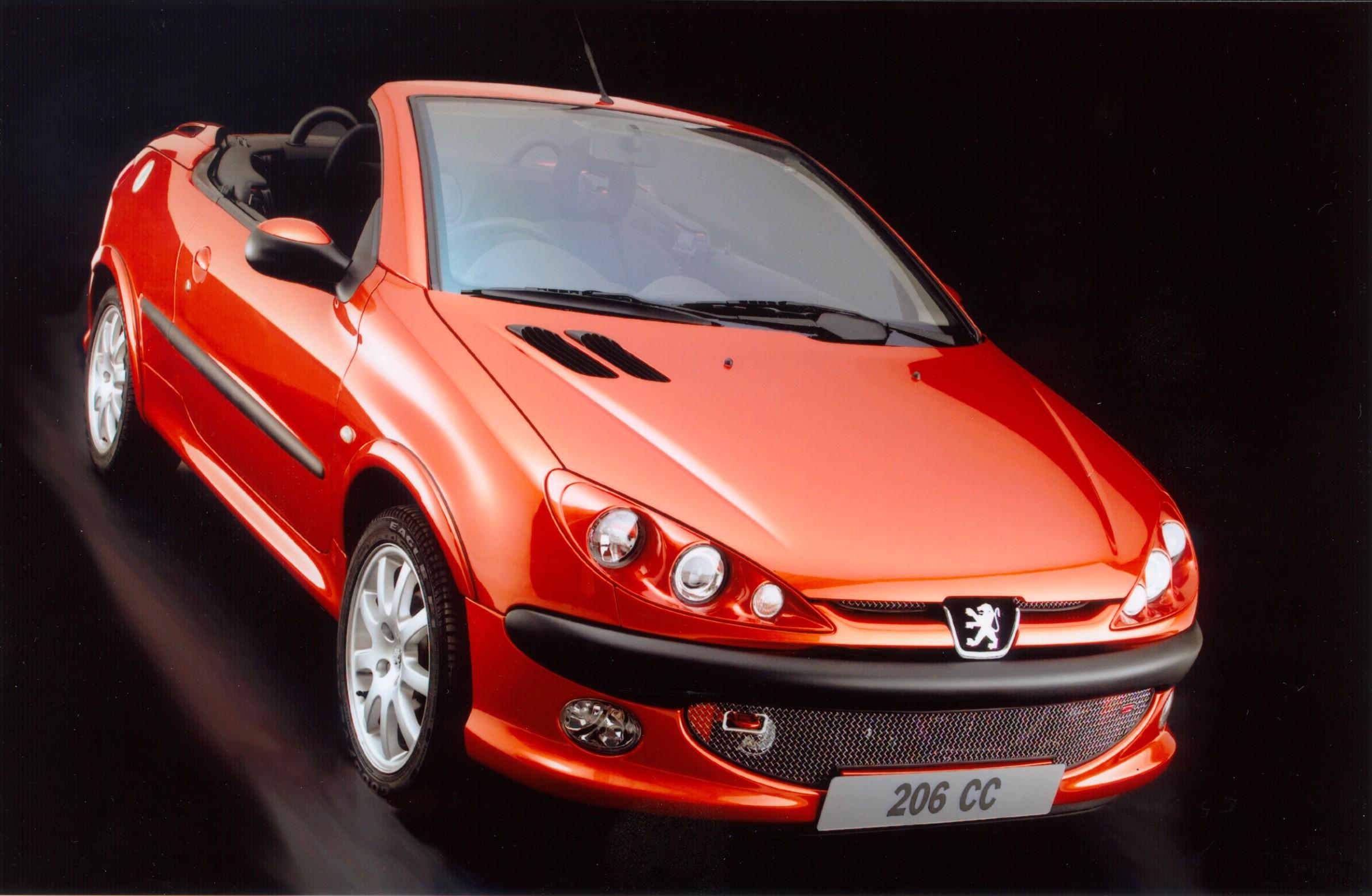 Peugeot 206 Cc 2001 2002 2003 2004 2005 2006 2007