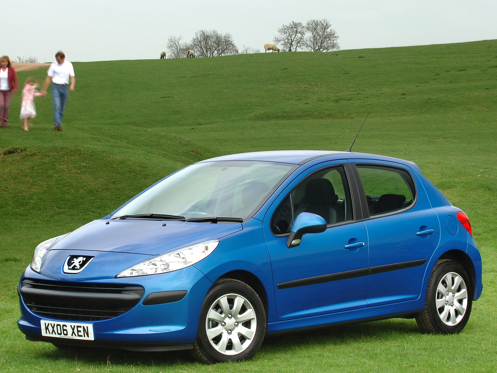 Peugeot 207 5 Doors 2006 on evolution engine