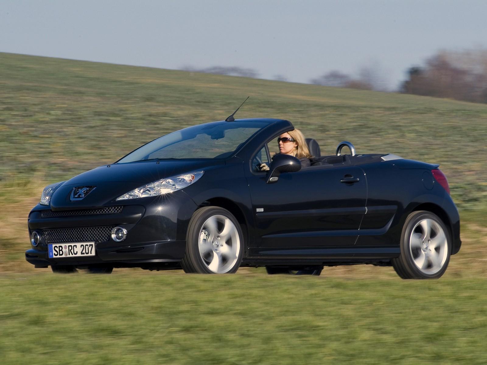 peugeot 207 cc specs - 2007, 2008, 2009 - autoevolution