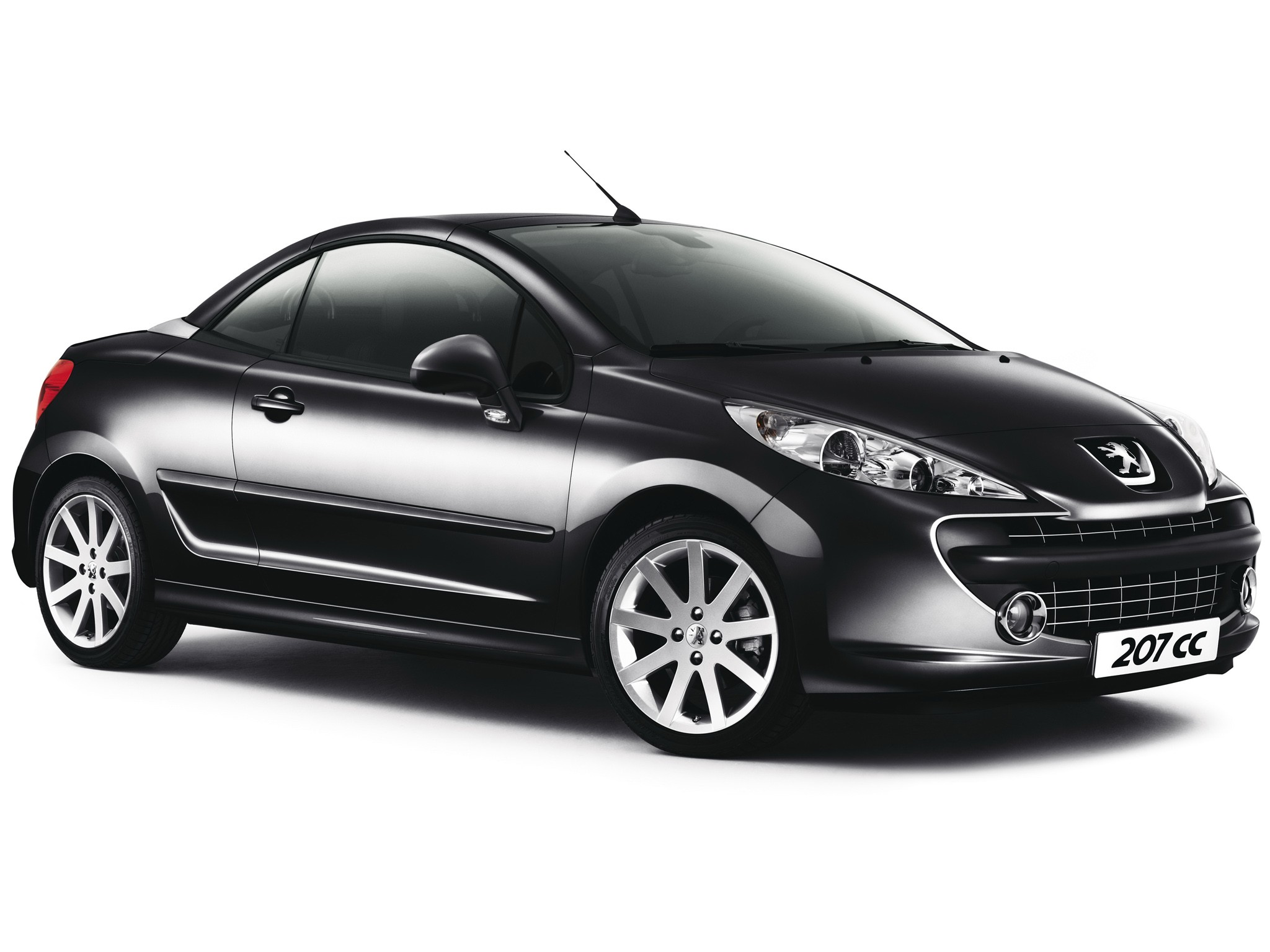 peugeot 207 cc 2007 2008 2009 autoevolution. Black Bedroom Furniture Sets. Home Design Ideas