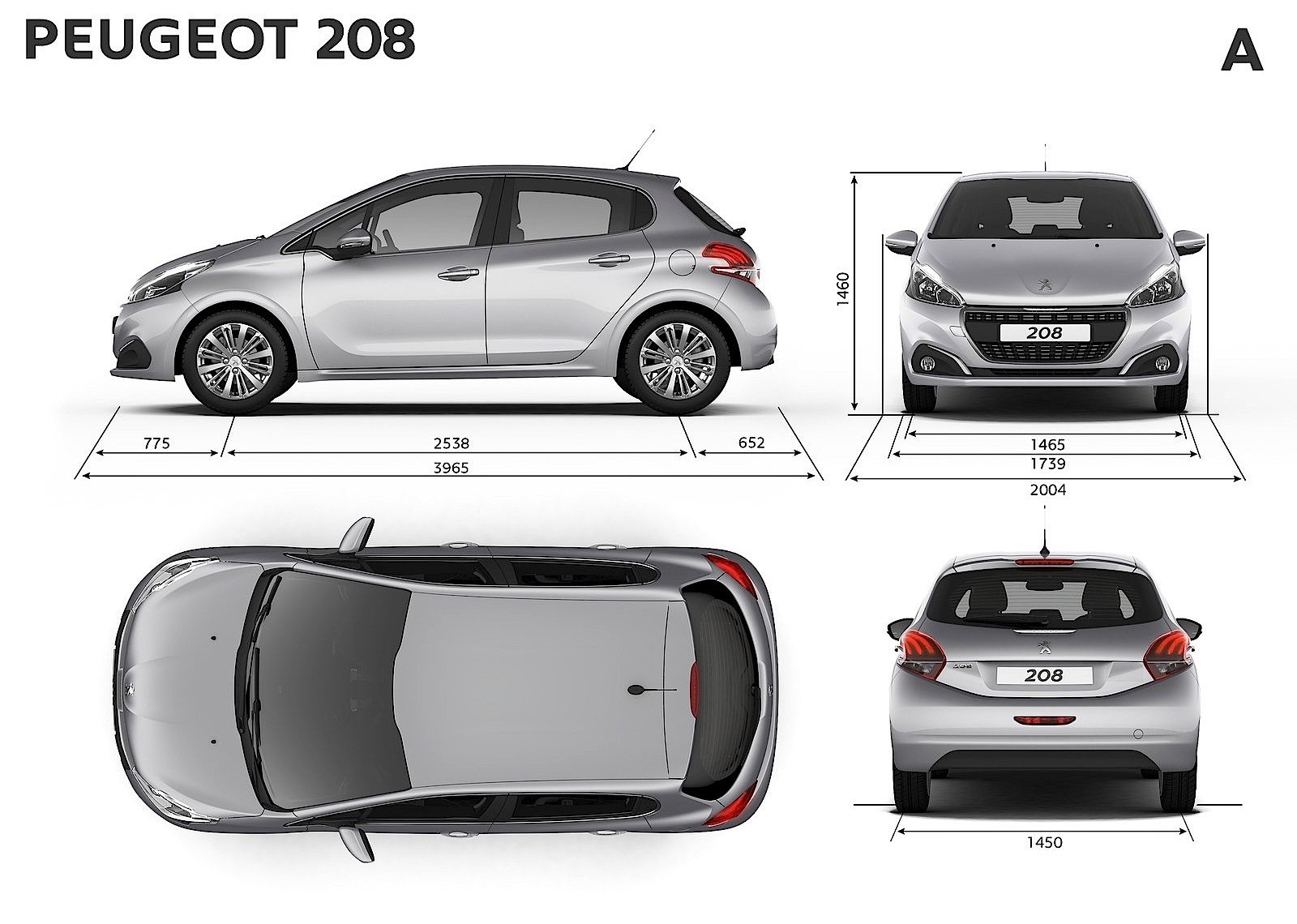 peugeot 208 5 doors specs 2015 2016 2017 2018. Black Bedroom Furniture Sets. Home Design Ideas