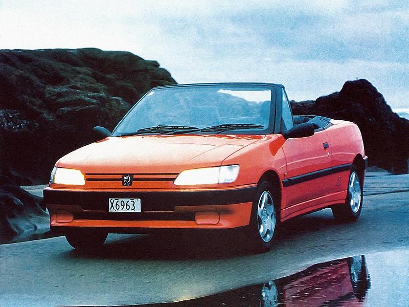 peugeot 306 cabriolet specs - 1994, 1995, 1996, 1997 - autoevolution