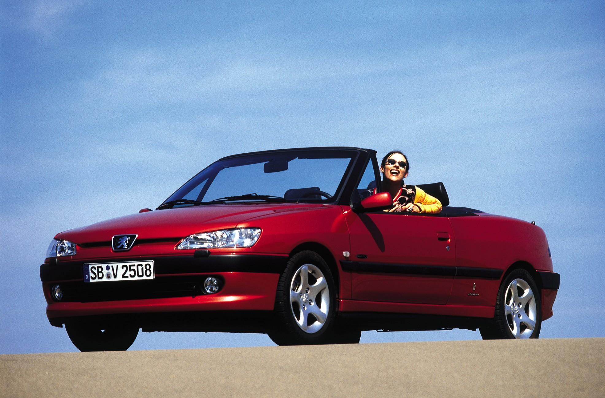 Peugeot 306 Cabriolet 1997 1998 1999 2000 2001 2002