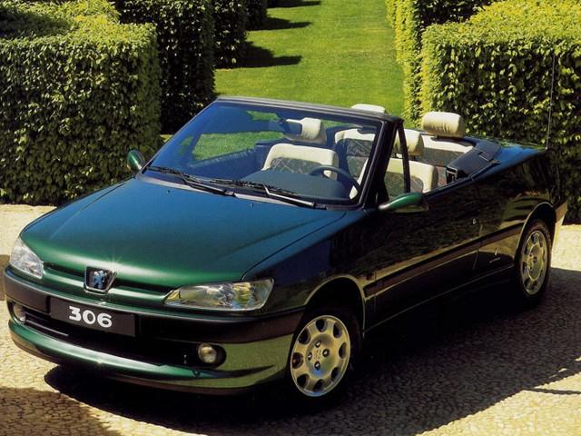 Peugeot 306 Cabriolet Specs - 1997  1998  1999  2000  2001  2002  2003