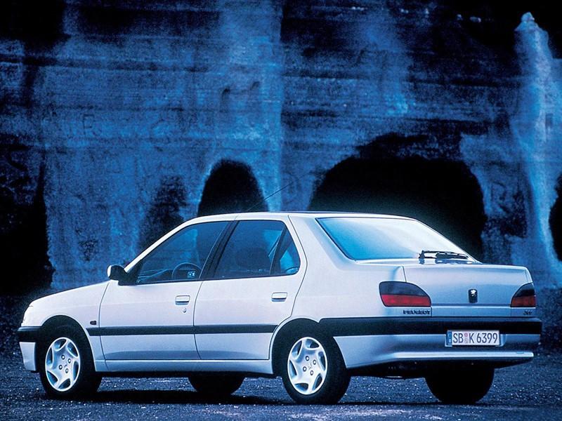 Green Day 2000 PEUGEOT 306 Sedan - 19...