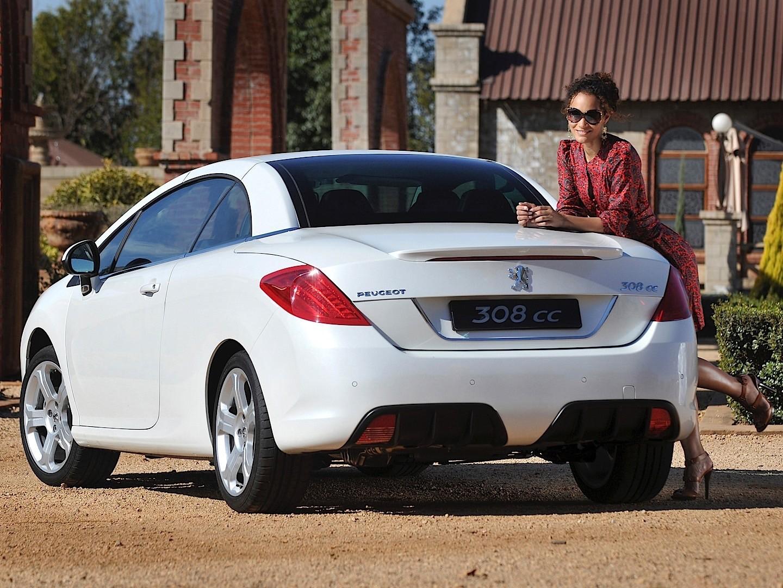 PEUGEOT 308 CC specs - 2008, 2009, 2010, 2011 - autoevolution