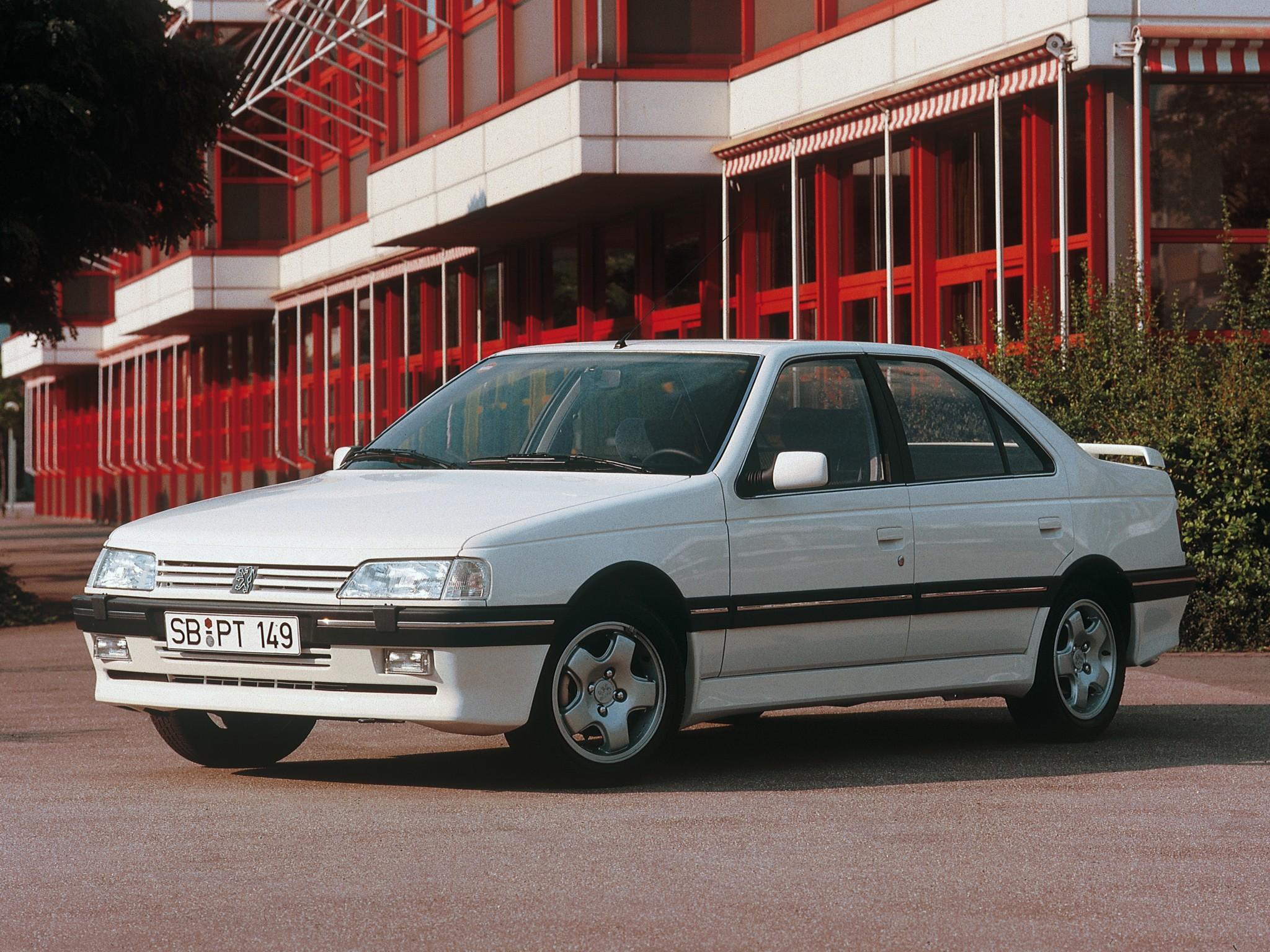 ... PEUGEOT 405 (1987 - 1996) ...