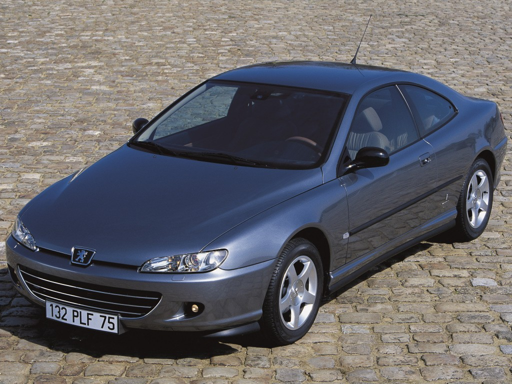 ... PEUGEOT 406 Coupe (2003 - 2004) ...