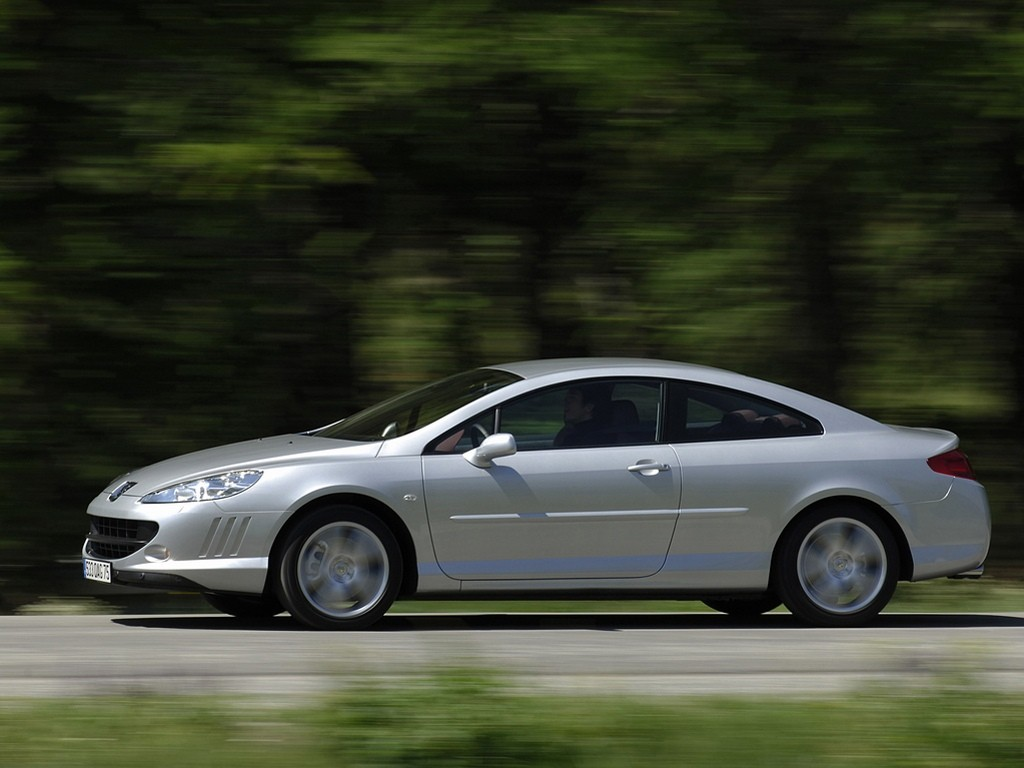 PEUGEOT 407 Coupe - 2005, 2006, 2007, 2008, 2009, 2010, 2011, 2012