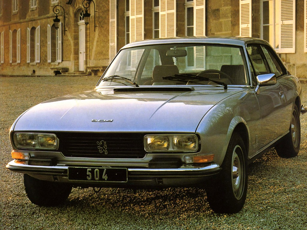 peugeot 504 coupe specs photos 1974 1975 1976 1977. Black Bedroom Furniture Sets. Home Design Ideas