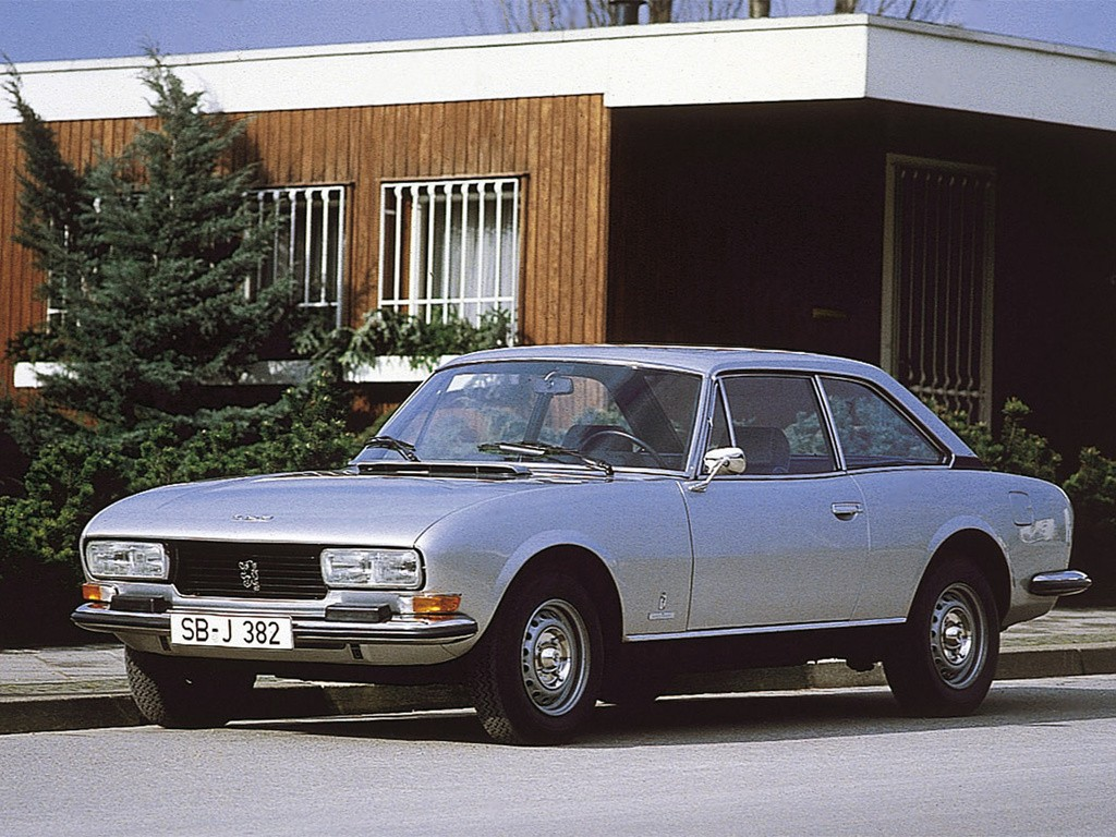 Peugeot 504 Coupe Specs Photos 1974 1975 1976 1977 1978