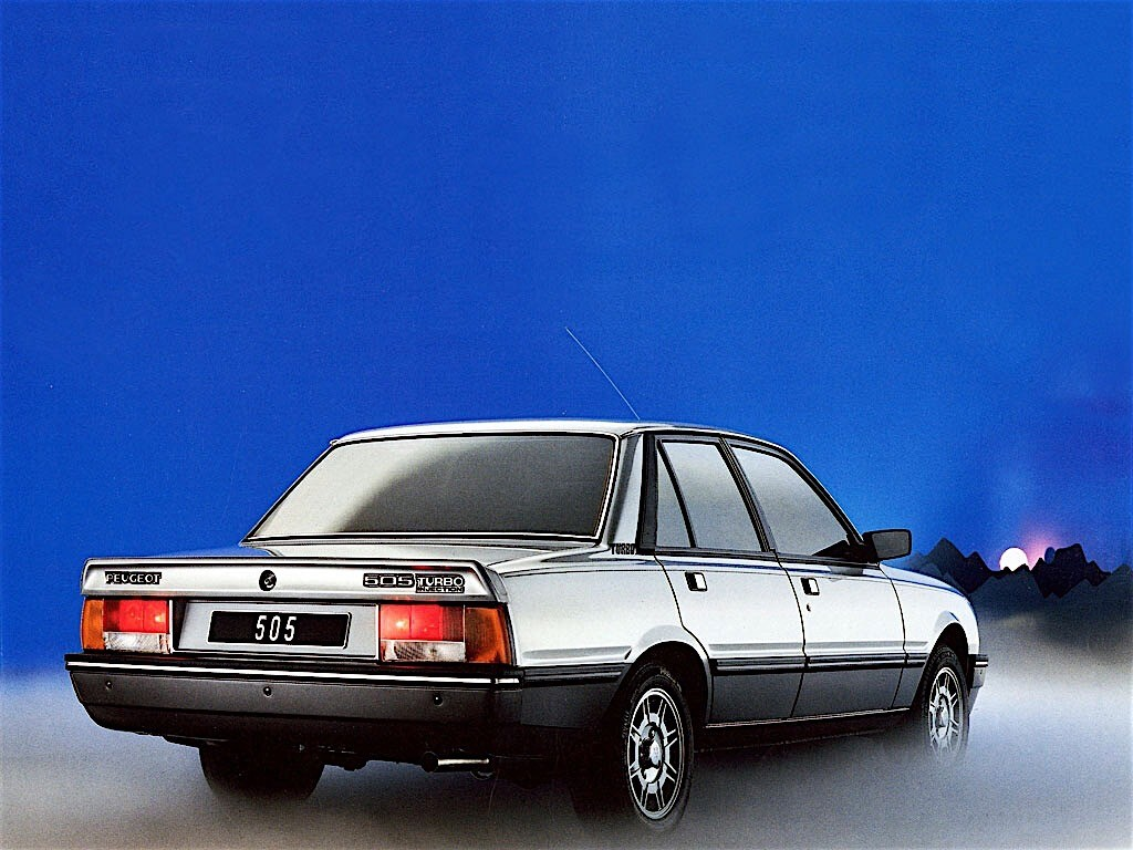 PEUGEOT 505 specs - 1979, 1980, 1981, 1982, 1983, 1984 ...