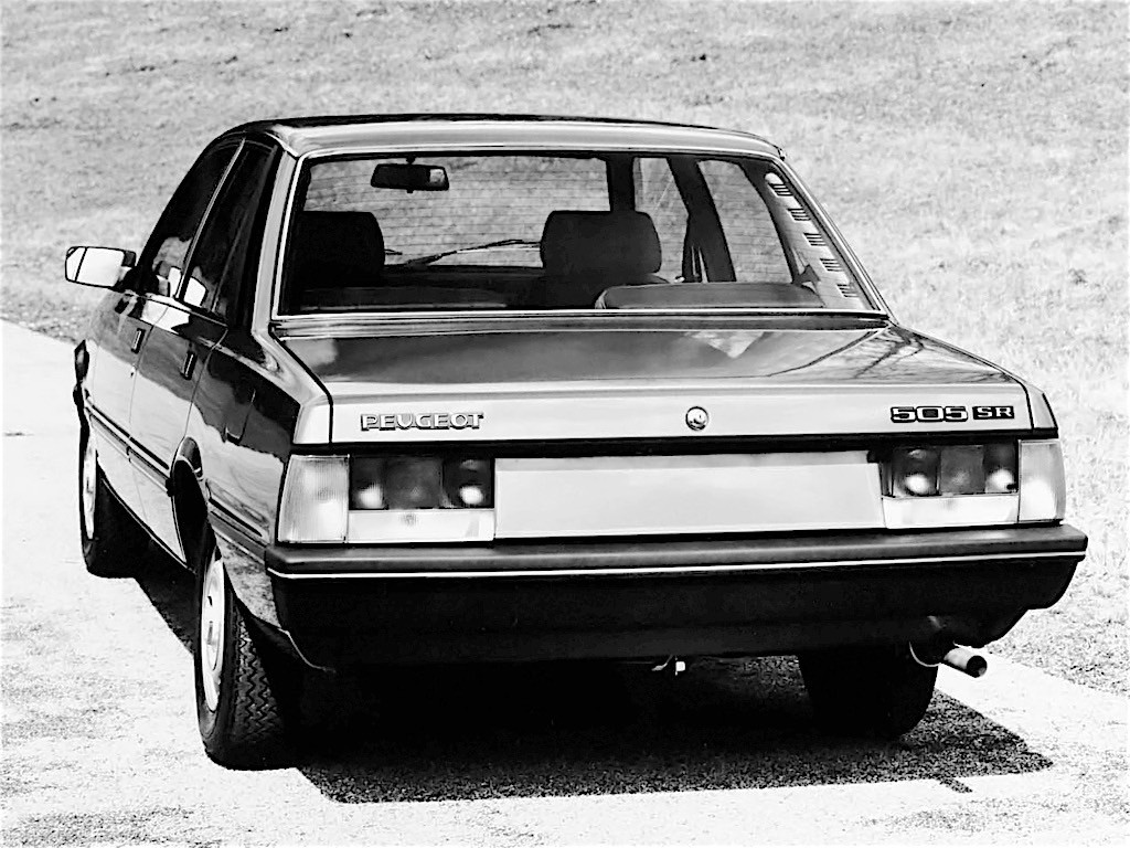 ... PEUGEOT 505 (1979 - 1992) ...