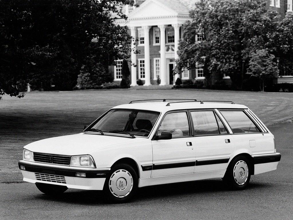 Peugeot 505 Break Specs 1985 1986 1987 1988 1989