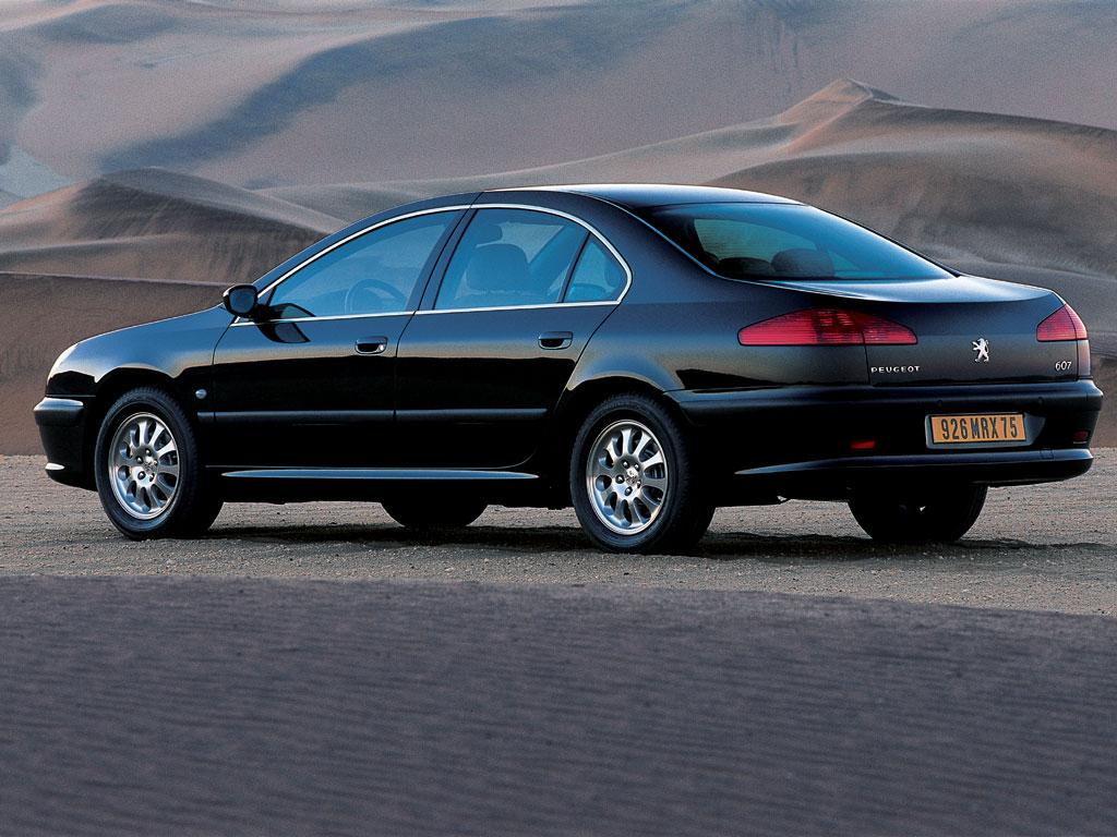 Peugeot 607 2000 2001 2002 2003 2004 2005