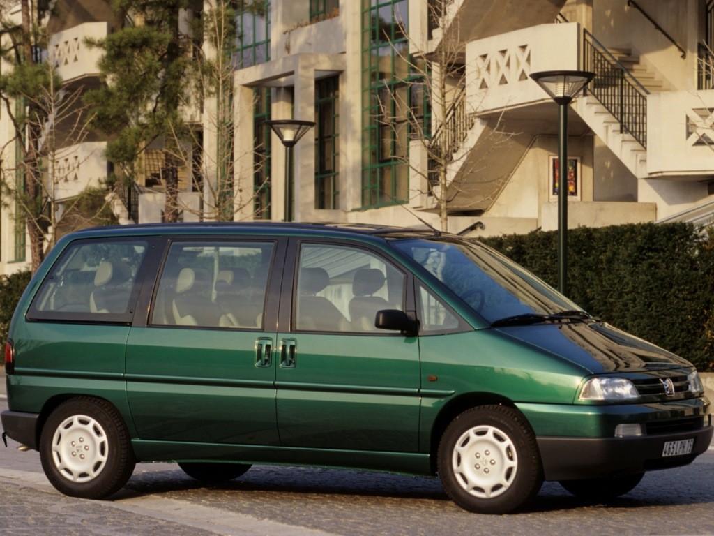 ... PEUGEOT 806 (1994 - 1998) ...