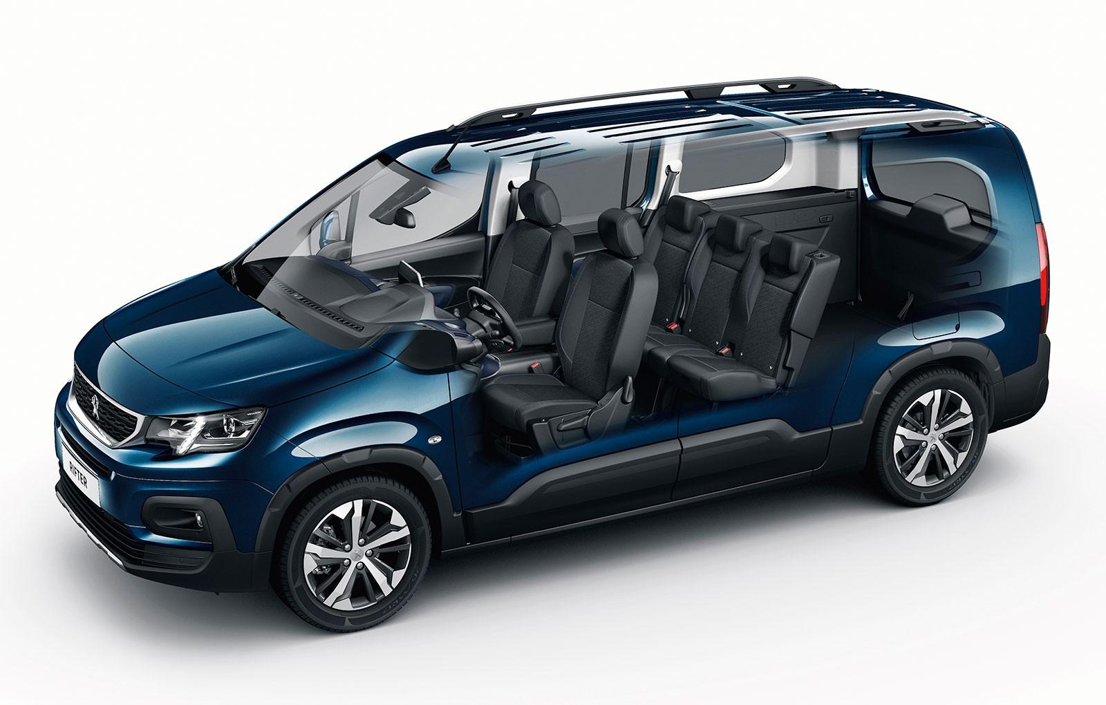 Peugeot 5008 Interior >> PEUGEOT RIFTER specs & photos - 2018, 2019 - autoevolution