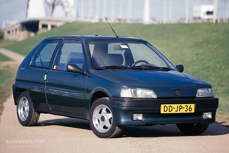 PEUGEOT 106 - 1991, 1992, 1993, 1994, 1995, 1996 ...