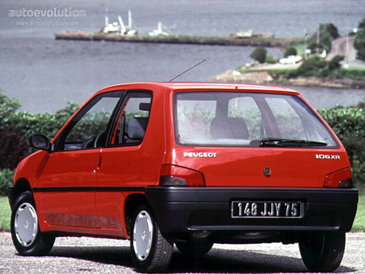 peugeot 106 specs photos 1991 1992 1993 1994 1995 1996 rh autoevolution com peugeot 105 moped manual Peugeot 205